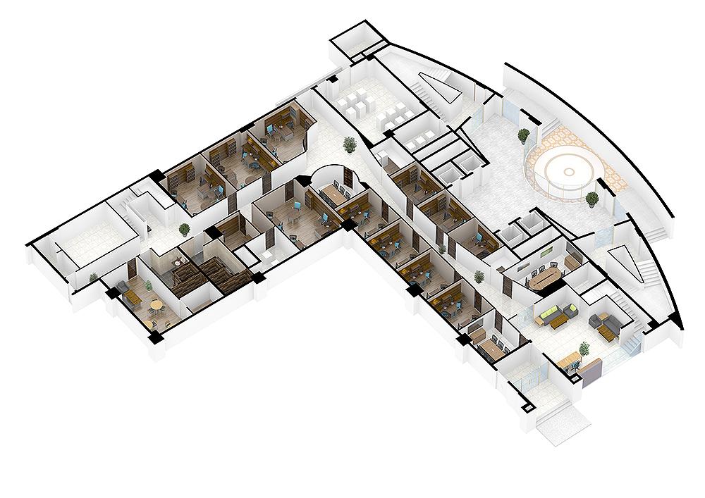 두바이-빈컴퍼니 실내인테리어 및 가구(3D)