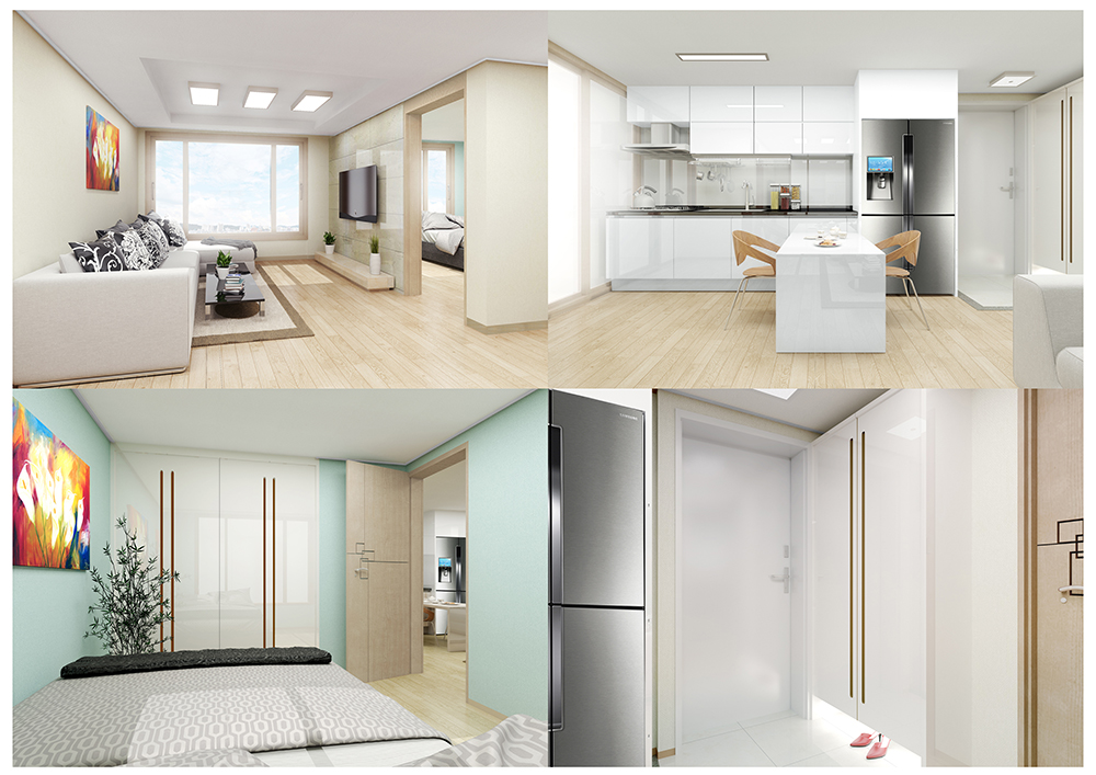 Hanwoong – A high-rise residential building in Bupyeong-dong