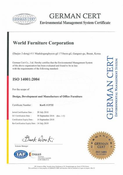 ISO 140001:2004 – Englis
