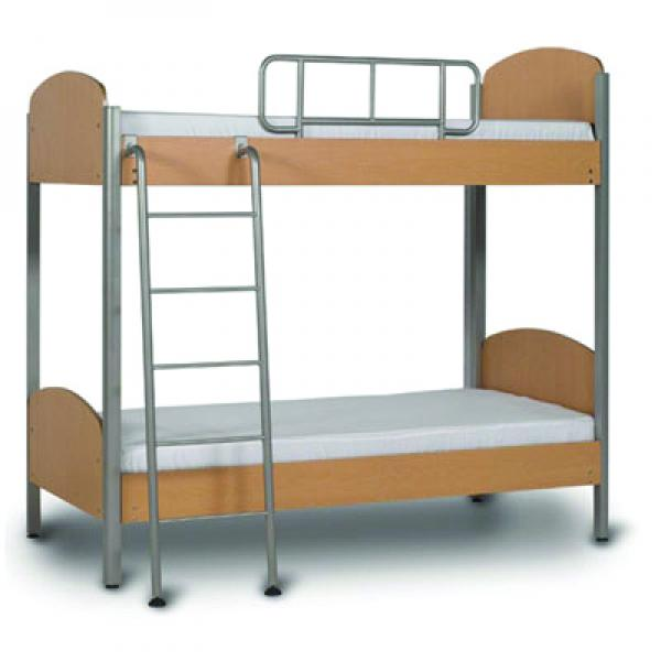 double-deck bed