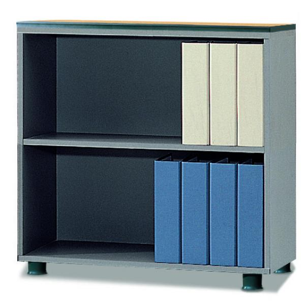 bookcase with 2-stage(open type)