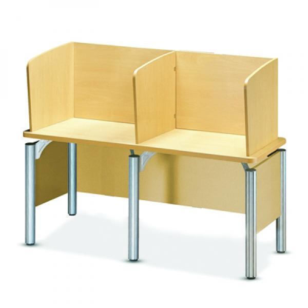 lecture desk (double)(partiotion type)