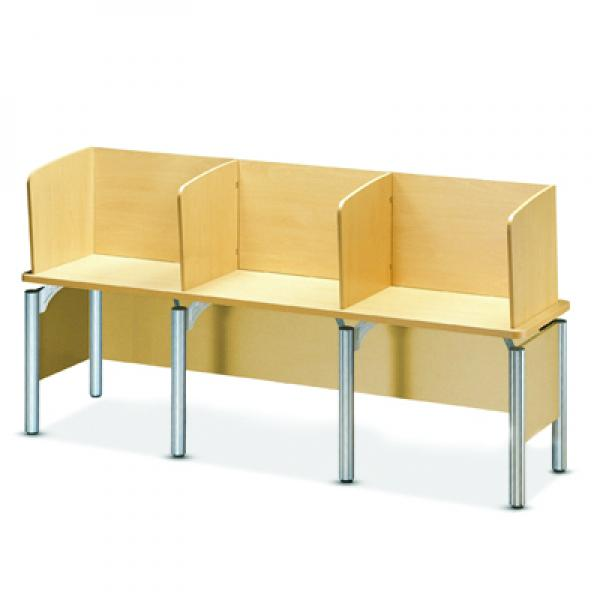 lecture desk (triple)(partiotion type)
