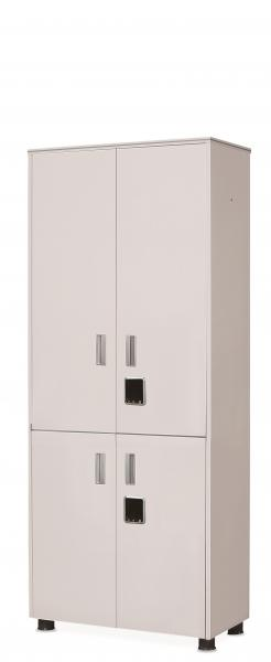 Linea cabinet with 5-stage(4doors type)[electronic key]