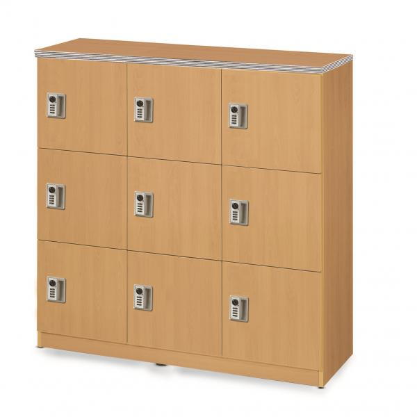 student locker for nine